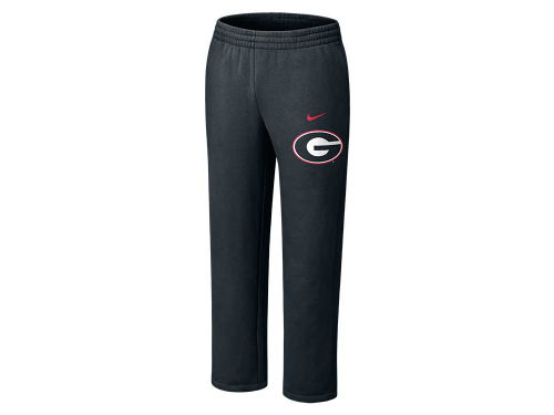 Georgia Bulldogs Nike NCAA Classic Fleece Open Bottom Pant