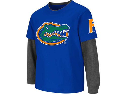 Florida Gators Colosseum NCAA Playground Double Layer T-Shirt