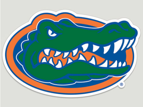 Florida Gators Wincraft Die Cut Color Decal 8in X 8in