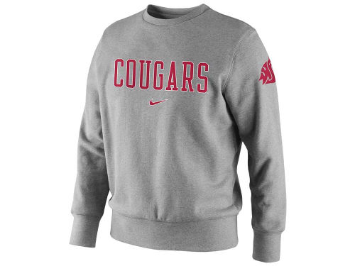 Washington State Cougars NCAA Nike Crew Sweatshirt