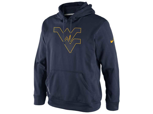 West Virginia Mountaineers Nike NCAA KO Hoodie
