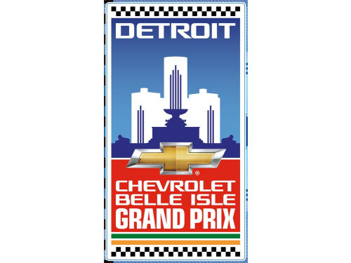 Chevrolet Detroit Belle Isle Grand Prix Fatheads Racing 12x17 Teammate