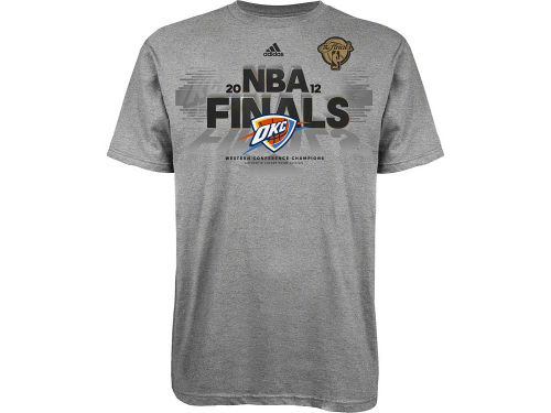 Oklahoma City Thunder Outerstuff NBA Youth 12 Conference Champ Monumental LR T-Shirt