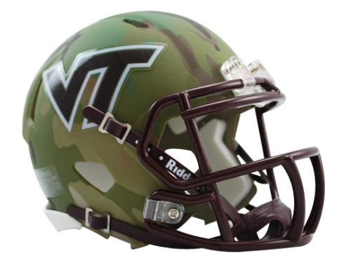 Virginia Tech Hokies Riddell HydroFX Speed Mini Football Helmet