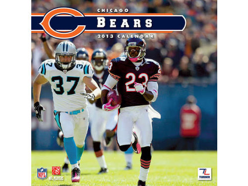 Chicago Bears 2013 12x12 Team Wall Calendar
