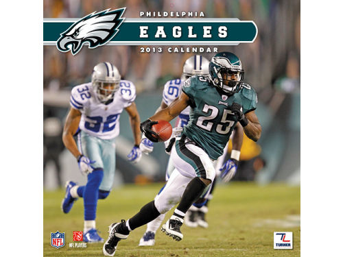 Philadelphia Eagles 2013 12x12 Team Wall Calendar