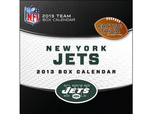 New York Jets 2013 Box Calendar