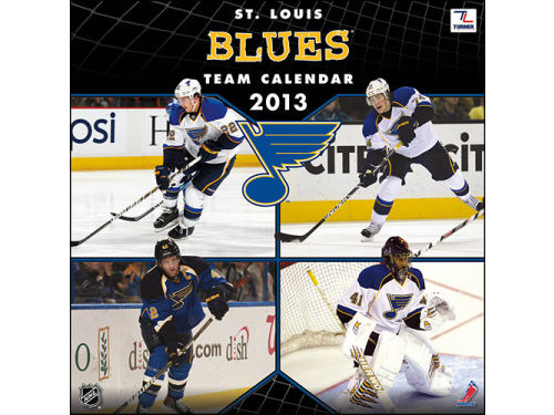 St. Louis Blues 2013 12x12 Team Wall Calendar