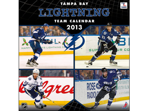 Tampa Bay Lightning 2013 12x12 Team Wall Calendar