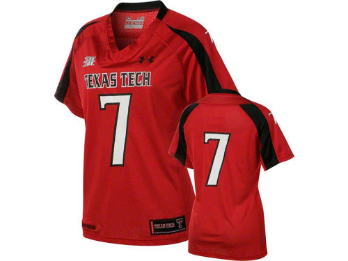 Texas Tech Red Raiders NCAA UA Womens Replica Football Jersey