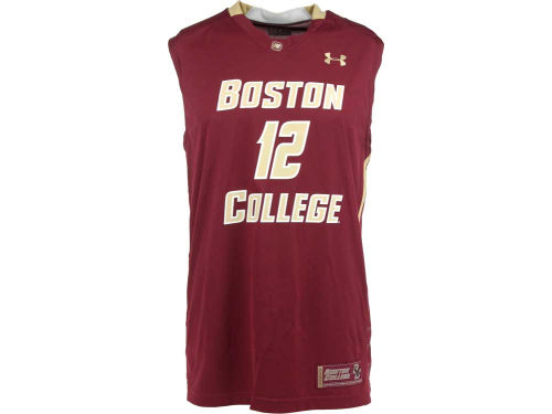 Boston College Eagles Under Armour NCAA UA Replica Basketball Jersey