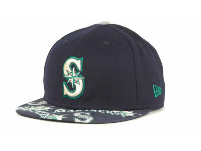 Seattle Mariners MLB Multi Logo 59FIFTY Cap Hats