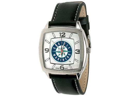 Seattle Mariners Retro Leather Watch