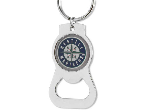 Seattle Mariners Aminco Inc. Aminco Bottle Opener Keychain