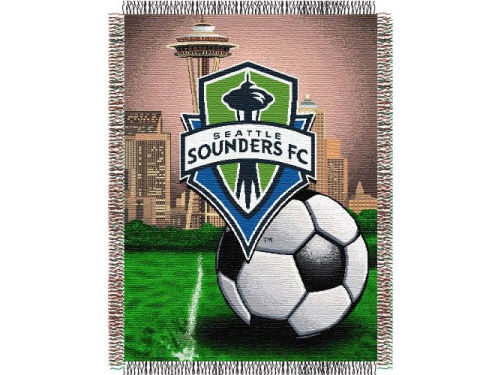 Seattle Sounders FC The Northwest Company Triple Woven Tapestry Throw