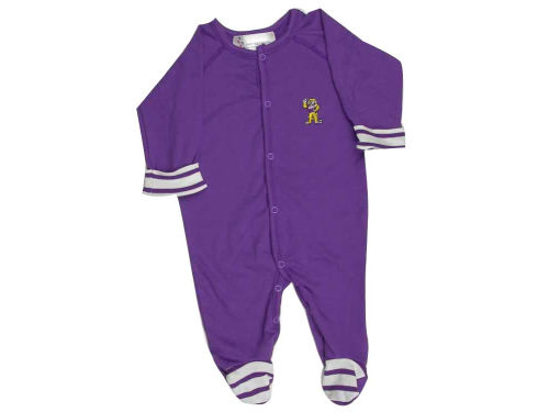 LSU Tigers NCAA Infant Footed Creeper