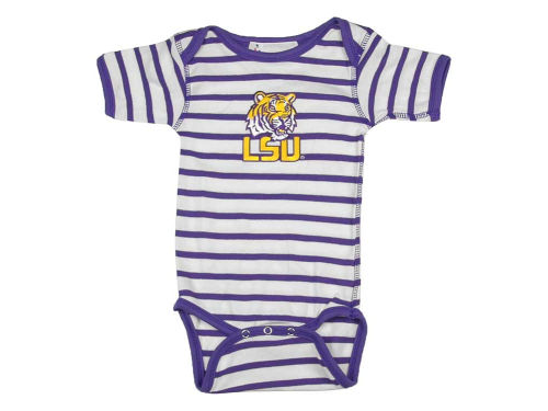 LSU Tigers NCAA Infant Stripe Creeper