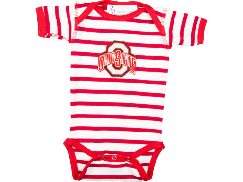 Ohio State Buckeyes NCAA Infant Stripe Creeper