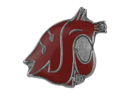 Washington State Cougars Logo Post Earrings
