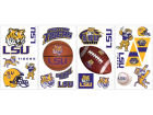 LSU Tigers NCAA Peel And Stick Wall Decal Sheet Bumper Stickers & Decals