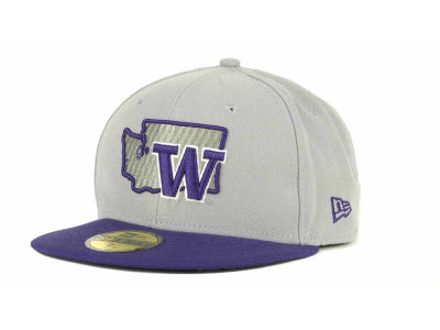 Washington Huskies NCAA State 59FIFTY Hats