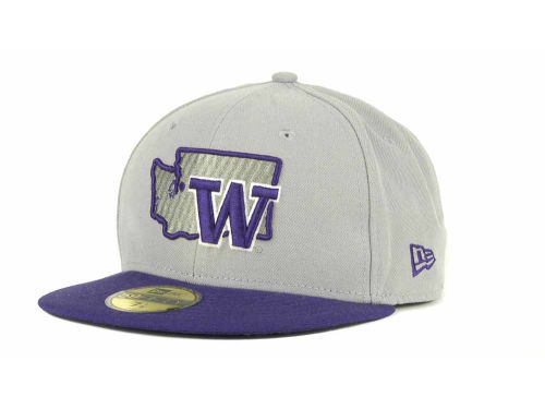 Washington Huskies New Era NCAA State 59FIFTY Hats