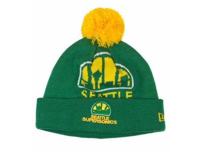 Seattle SuperSonics NBA Woven Biggie Hats