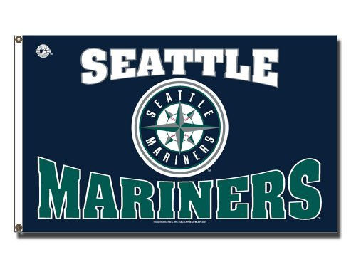 Seattle Mariners Rico Industries 3x5 Flag Rico