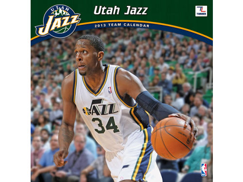 Utah Jazz 2013 12x12 Team Wall Calendar