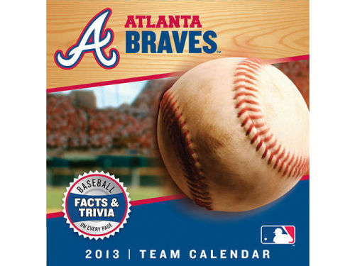 Atlanta Braves 2013 Box Calendar