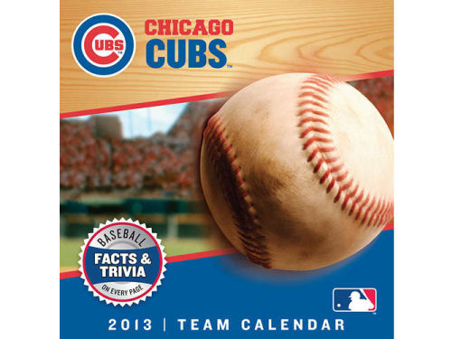 Chicago Cubs 2013 Box Calendar