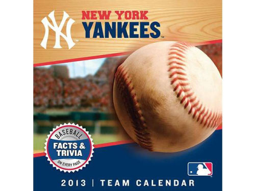 New York Yankees 2013 Box Calendar