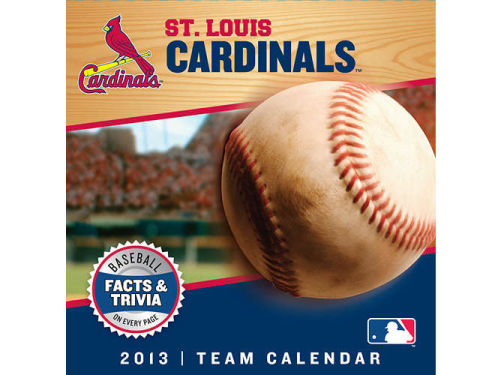 St. Louis Cardinals 2013 Box Calendar