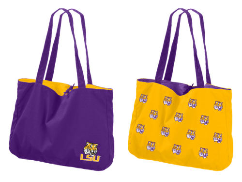 LSU Tigers Reversible Tote