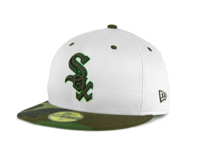 Chicago White Sox MLB BC Camo 59FIFTY Hats