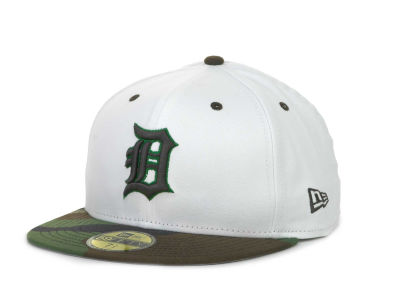 Detroit Tigers MLB BC Camo 59FIFTY Hats