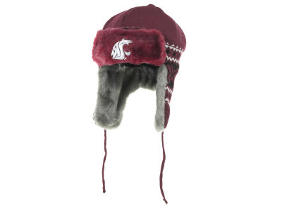 Washington State Cougars NCAA New Era Team Trapper Hats