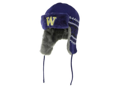 Washington Huskies NCAA New Era Team Trapper Hats