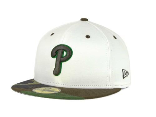 Philadelphia Phillies New Era MLB BC Camo 59FIFTY Cap Hats