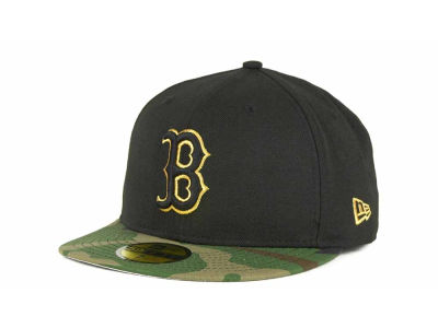 Boston Red Sox MLB BC Camo 59FIFTY Hats