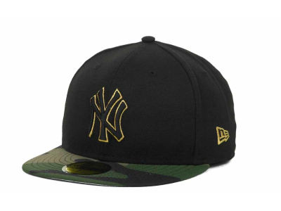 New York Yankees MLB BC Camo 59FIFTY Hats