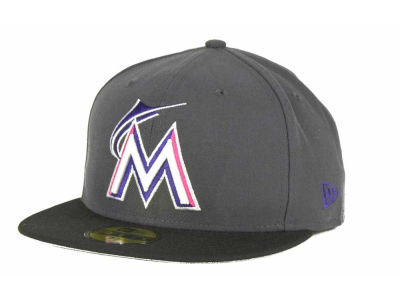 Miami Marlins MLB 2T Custom 59FIFTY Hats