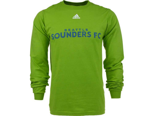 Seattle Sounders FC adidas MLS Long Sleeve Primary One T-Shirt