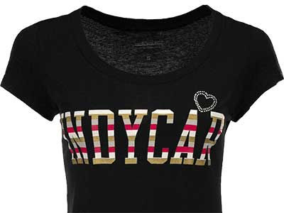 IndyCar Series Racing Wmns Pippy Deep Crew T-Shirt