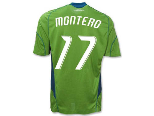 Seattle Sounders FC adidas MLS Replica Player Jersey