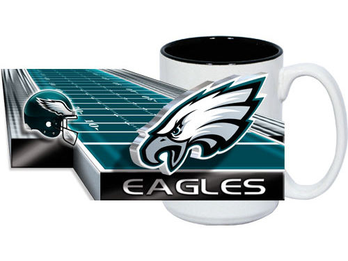 Philadelphia Eagles 15oz. Two Tone Mug