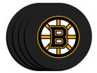 Boston Bruins 4pk Neoprene Coaster Set Kitchen & Bar