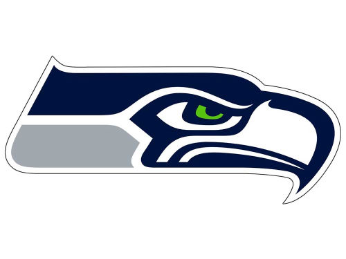 Seattle Seahawks 12in Car Magnet