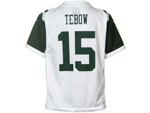 New York Jets Tim Tebow Outerstuff NFL Kids Game Jersey