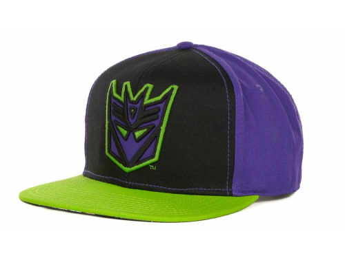 Bio Domes Transformers Colorblock Snapback Cap Hats